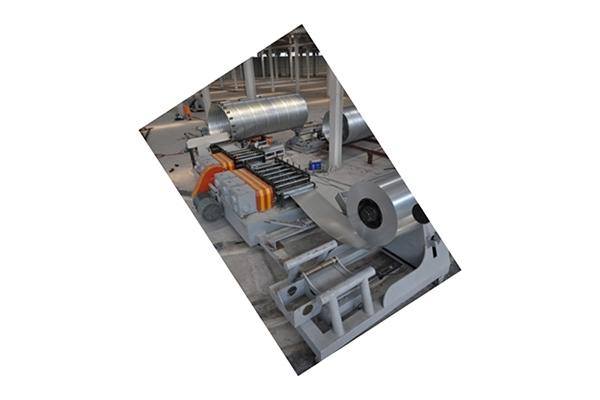 镀锌螺旋波纹钢管成套机组